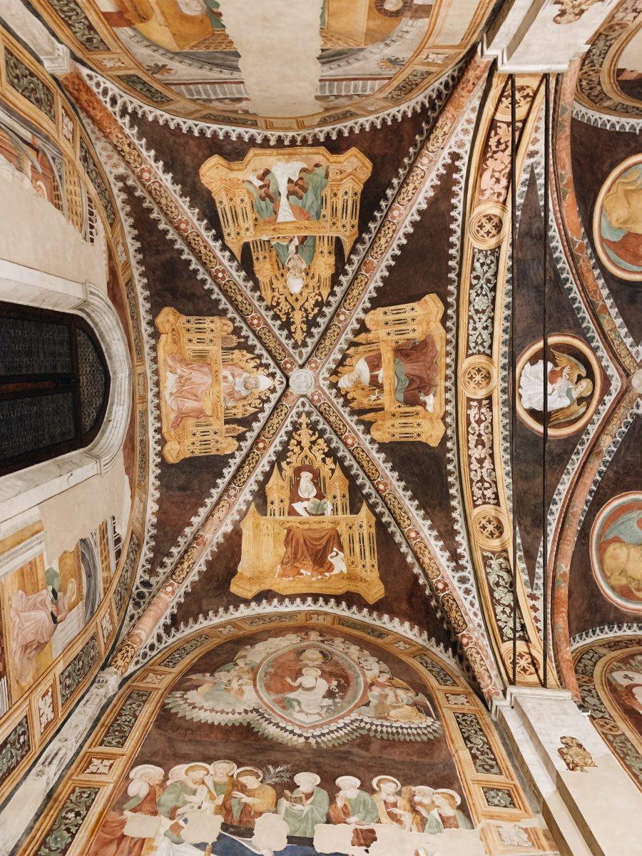 Affreschi della Cappella degli Innocenti nella Chiesa di Santa Caterina a Treviso