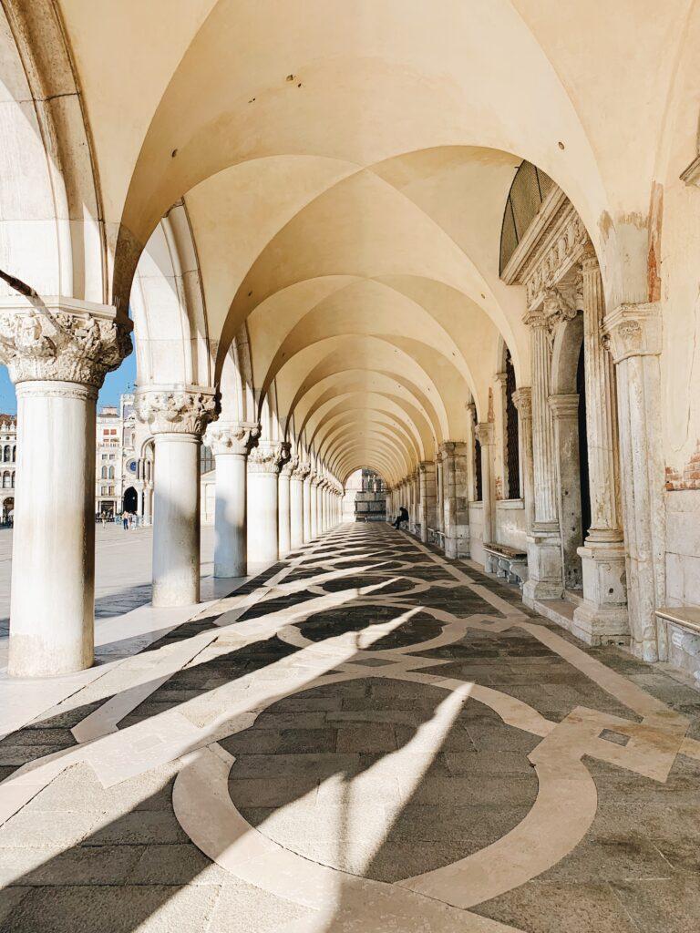 Porticato Palazzo Ducale Venezia